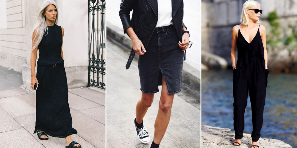 how-to-wear-black-in-summer
